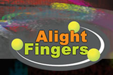 Alight Fingers - learning through play by day - alight at night