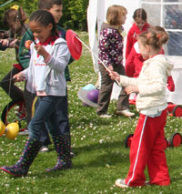 juggling clubs for circus skills and workshops